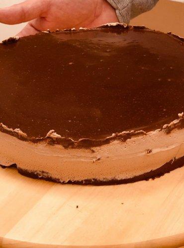 Extra čoko mousse torta